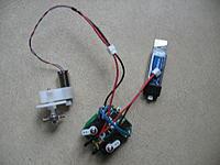 Name: V911 rx brick and GPS-8 motor 001.jpg Views: 4099 Size: 156.9 KB Description: