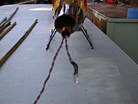 Name: 017.JPG Views: 31 Size: 631.5 KB Description: Couldn't get a clear shot, but this is good enough I think, tail boom as it will be out the back of the shell.