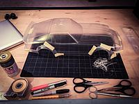 Name: image.jpg Views: 212 Size: 701.9 KB Description: Fitting the the fenders and bumpers. Fine pass on the trim lines