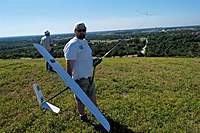 Name: DSC_1647_DxO (Large).jpg Views: 200 Size: 122.5 KB Description: Buck's GL flies by while Duke gets his Sparrow ready.