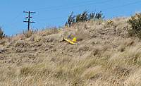 Name: DSC_5076_DxO (Custom).jpg Views: 114 Size: 109.8 KB Description: Tom's M60 kicks up a dirt trail on landing.