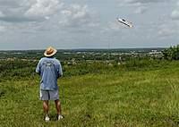 Name: DSC_5208_DxO.jpg Views: 131 Size: 121.6 KB Description: Charlie entertains flying his flat foam Yak.