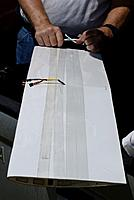 Name: DSC_7925_DxO (Custom).jpg Views: 96 Size: 63.5 KB Description: Miami Mike reinforces his BOT wing panel before next launch.