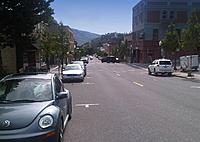 "Name: IMG00380-20120606-1011 (Custom).jpg Views: 269 Size: 143.6 KB Description: ""Busy"" downtown Hood River as we depart."