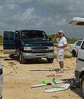 Name: DSC_0042 (Custom).jpg Views: 71 Size: 110.3 KB Description: Paul preps some of his fleet.