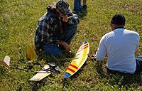 Name: DSC_4576 (Large).jpg Views: 67 Size: 312.5 KB Description: James checks out the Schwing.