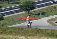 Name: DSC_4578 (Large).jpg Views: 67 Size: 270.5 KB Description: Ben recovers his Falcon after a tough landing.