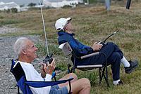 Name: DSC_5091_DxO.jpg Views: 33 Size: 194.8 KB Description: Gene and Larry L take front row seats.