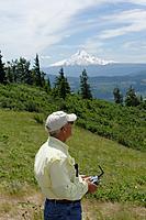 Name: DSC_1214_DxO.jpg Views: 105 Size: 131.4 KB Description: Larry flies with Mount Hood in background.