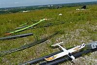 """Name: DSC_1662_DxO.jpg Views: 64 Size: 304.4 KB Description: The """"pits"""" have a few planes awaiting flight."""