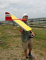 Name: D71_2521_DxO.jpg Views: 32 Size: 457.9 KB Description: Amadeo checks out the air traffic before launching.