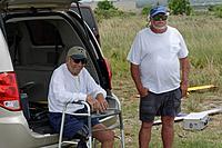 Name: D71_2524_DxO.jpg Views: 28 Size: 397.7 KB Description: Larry S and Bill enjoy the fun.