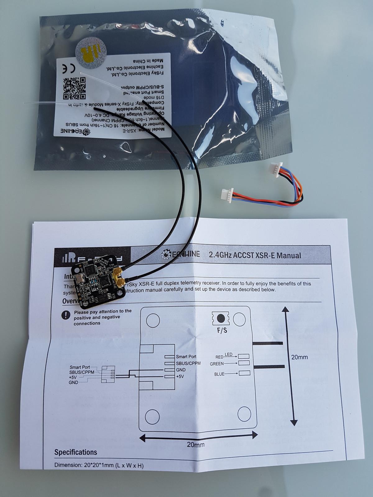 Review of Frsky XSR-M / EACHINE XSR-E - 15x15m D16 2.4G 16CH ACCST ...