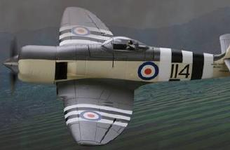E-flite's Hawker Sea Fury