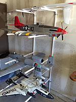 Diy Wall Mounted Pvc Airplane Storage Rack Rc Groups