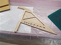 Name: DSCF8820.jpg Views: 28 Size: 1.16 MB Description: One side of sheeting added to the fin.