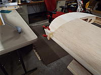 Name: DSCF8834.jpg Views: 32 Size: 1.11 MB Description: The wing tip LE is replaced with a solid block for strength.  It just needs to be sanded to blend into the airfoil and tip properly.