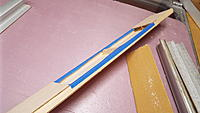 Name: DSCF1438.JPG Views: 20 Size: 2.73 MB Description: I masked the fuselage where the box goes so that I don't sand it off.