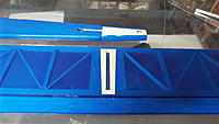 Name: DSCF1500.JPG Views: 33 Size: 2.82 MB Description: The covering is removed from the fuselage and stab where they attach.