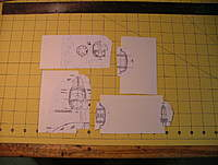 Name: dscf8818.jpg Views: 240 Size: 84.2 KB Description: Templates are made by attaching (#77) plans to 3x5 cards.  For larger models you will want to use heavier cardboard.