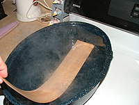 Name: dscf8843.jpg Views: 251 Size: 78.0 KB Description: BOIL the wood for a good while.  10 minutes isn't unreasonable.  Your water will often turn to balsa tea.