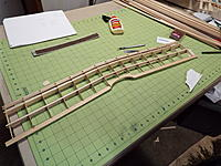 """Name: DSCF6133.jpg Views: 34 Size: 730.7 KB Description: Shear web is 1/32"""" medium balsa glued to the front or rear of the spars."""