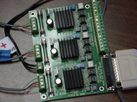 Name: ElecTest1.jpg Views: 788 Size: 115.3 KB Description: Card with all 3 steppers wired in.