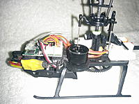 Name: IMG_20170418_184551-picsay.jpg Views: 127 Size: 159.6 KB Description: Cut and solder Esc to motor , carbon shaft , new ( cheap ) servos from HK, drilled out broken canopy pins and replaced with piece of split tail boom ...shrinkwrap tips for good fit in grommets, hot glue reinforce rx airiel,