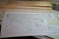 Name: IMG_3487.jpg Views: 183 Size: 180.8 KB Description: Plan + Balsa = GO!