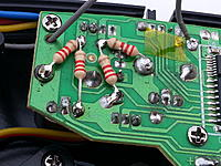 Name: 20160511_195610.jpg Views: 210 Size: 637.8 KB Description: Later i added the 2 resistors on the right  for the left hand steering wheel expo.