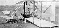 Name: Wilbur Wright Kitty Hawk December 14 1903.jpg