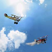 Name: Sopwith and Red Baron.jpg Views: 11 Size: 148.7 KB Description: Sopwith attacks the Red Baron!