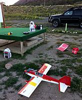 Name: photo (2).jpg Views: 60 Size: 170.3 KB Description: My planes, Slow stick on steroids, and my new Escapade, Twist 3D is missing, will be there soon.