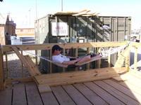 Name: SANY0429.jpg Views: 1188 Size: 95.3 KB Description: Matt chillin in the new hammock
