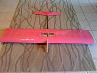 "Name: mega dart.jpg Views: 514 Size: 38.5 KB Description: 60"" span Mega Dart 60 in pink."