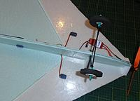 Name: PA141439.jpg Views: 12 Size: 189.5 KB Description: below. note the laminating film is covering the steps top and bottom.. it makes the wing very stiff and strong
