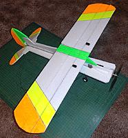 Name: P6031609web.jpg Views: 3 Size: 237.1 KB Description: Done    .. bracing struts under the wing..and a U/C with wheels