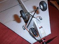 Name: P1170130.jpg Views: 1 Size: 281.9 KB Description: with the front end rebuilt the AUW including a 2s lipo is 190g ....6.75oz ... 3.57ozqft