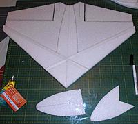 Name: P2170177.jpg Views: 4 Size: 214.8 KB Description: Nose being laminated, then fitted on