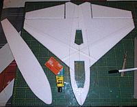 Name: P2170179.jpg Views: 5 Size: 240.6 KB Description: holes for gear cut... and lower deck being glued on