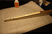 Name: IMG_2169.JPG Views: 79 Size: 2.88 MB Description: There are a few ways to glue this on. You can use medium or thick ca, apply glue on all of the mating surfaces, and put the top sheet on. I like a different method. Place the sheet on, hold it in place, and run thin CA along the joints.  Wicks right in.