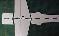 Name: IMG_1067.jpg Views: 113 Size: 142.7 KB Description: Lay out the parts 6mm Depron Aero Fuse parts on a flat surface.