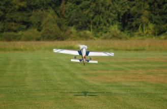 Takeoffs are a thing of beauty with the Extra 300 SHP.