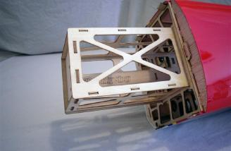 The motor box comes pre-installed on the 3D Hobby Shop 51