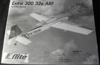 The E-flite Extra 300 32e ARF manual.