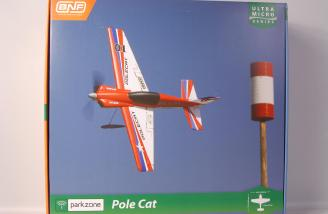 A very cool box top picture of the ParkZone Ultra-Micro Pole Cat!