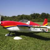By far one of the sleekest looking aerobatic airplanes available