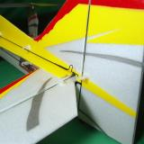 Fully adjustable carbon fiber/metal rudder pushrod