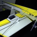Carbon fiber wing support and ABS wing brace.