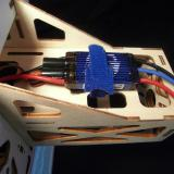 E-flite Pro Switch-Mode 60A ESC installed under the motor box.